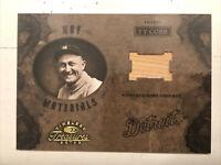 2003 Donruss Timeless Treasures Ty Cobb Game Used Bat /100