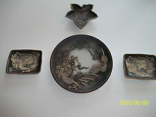 Dragonware Plate and Pin Trays...4 pcs.