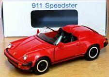 RARES MODELL NZG PORSCHE 911 SPEEDSTER G - MODELL IN ROT 1:43 NUMMER 254100