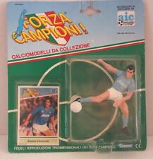 SEALED FORZA CAMPIONI Action Figure & Card ANDREA CARNEVALE Napoli Kenner