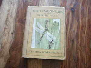 NEW NATURALIST POYSER OBSERVER WAYSIDE AND WOODLAND DRAGONFLIES 1ST EXCELLENT