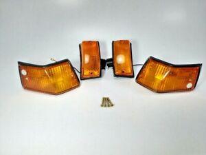 Vespa Front And Rear Indicator Orange PX 125 150 200 VBX Stella Star
