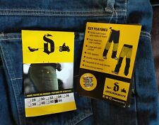 Draggin Jeans Holeshot Kevlar® Lined Size 44 Motorcycle BNWT
