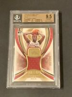 2005 SP Game Used Authentic Fabrics Gold PATCH LeBron James /100 BGS 9.5 Pop 8