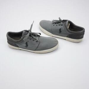 POLO RALPH LAUREN Faxon Low Lace Up Fabric Mesh/Sport Suede Shoes Mens 10.5D