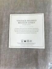 New listing Restoration Hardware Vintage-Washed Belgian Linen Shower Curtain