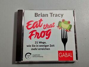 🐸Eat that Frog von Brian Tracy (2020, Digital) CD ROM Multimedia Hörbuch 🐸