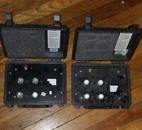 Lot of 2 Drager Draeger Safety sensor PAC Bias Box ERUK 4 pos
