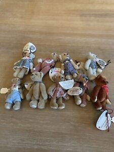 Cottage Collectibles Miniatures By Ganz Lot Of 9