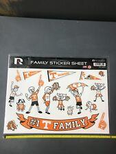 UT Vols Tennessee Volunteers Spirit Family Sticker Decal Sheet