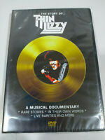 Thin Lizzy The Story Of A Music Documentario DVD Regione All Inglese Nuovo - 3T