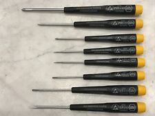 Wiha 27399 Screwdriver full Set Slotted And Phillips ESD safe Precision 8 Piece