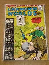 UNKNOWN WORLDS #4 G (2.0) AMERICAN COMICS GROUP DECEMBER 1960 <