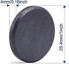 Ceramic Industrial Magnets 1 Inch 25mm 25 Pcs Round Disc Ferrite Magnet Crafts