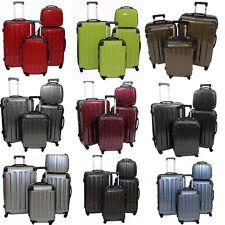 Koffer Trolley Reisekoffer Hartschalenkoffer 3er/4er Set mit Dehnungsfuge