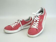 Men 7.5 Puma Sport Lifestyler Red Leather Sneaker