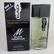 EAD Black Mountain Legend EDT Spray for Men 2.5 oz 75ml Eau De Toilette New