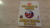 1981-82 Post NHL Stars In Action Pop-Ups - #6 New York islanders - Mike Bossy MT