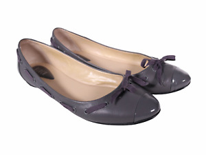 BLOCH Womens Flats Shoes Gray Leather Size EUR 39.5 US 8