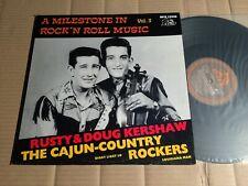 RUSTY & DOUG KERSHAW - THE CAJUN-COUNTRY ROCKERS - LP - BEAR FAMILY 1979
