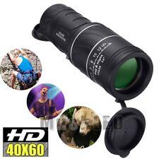 Mini Compact Pocket Monocular 40X60 HD OPTICS Camping Hiking Hunting Telescope
