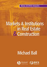 Markets & Institutions in Real Estate & Construction (Real Estate Issues), Good