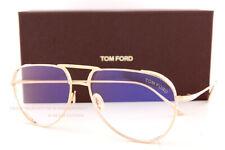 Brand New Tom Ford Eyeglass Frames FT 5658-B 028 Gold Titanium For Men Size 56mm