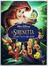 LA SIRENETTA QUANDO TUTTO EBBE INIZIO (2008) DVD SLIPCASE IN RILIEVO SIGILLATO!!