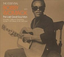The Essential Bobby Womack: The Last Great Soul Man by Bobby Womack (CD, Sep-2005, 2 Discs, Metro)