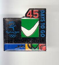 RARE PINS PIN'S .. OLYMPIQUE SYDNEY 2000 SALON EXPO STORE BOOMERANG 45 ~13