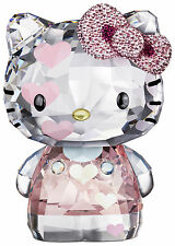 SWAROVSKI #1142934 HELLO KITTY HEARTS LIMITED EDITION 2012 BRAND NIB RETIRED F/S