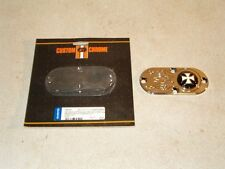 10 Ace Metal 'Iron Cross' Inspection Covers for Harleys