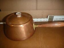 Vintage Copper Pot/Saucepan Made In Portugal with lid