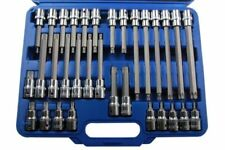 "US PRO 32pc 1/2""Dr Torx Star Bit Socket Set S2 Steel T20-T70 55-200mm 1372"