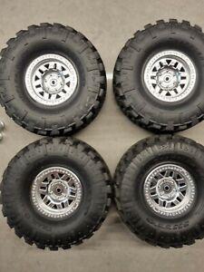 Axial Traxxas Trx4 Beadlock Kmc Wheels Nitto Tyres crawler