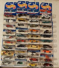hot wheels 1998 first editions Complete 40 Car Set