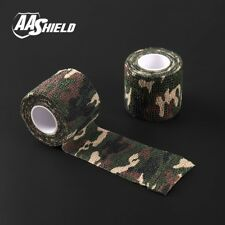 AA Shield Outdoor Camping Camo Bandage Military Rifle Covert Tape/Gun FOREST