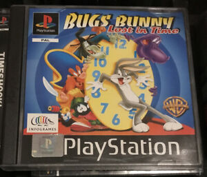 Bugs Bunny Lost In Time (PS1) Excellent Condition PlayStation 1 One
