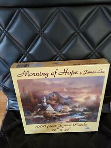 Sunsout Jig Saw Puzzle Church Morning of Hope 1000 pieces 27 x 20 New Sealed
