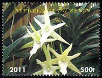 Benin postfrisch MNH Orchidee Blume Pflanze Flora Pflanzenwelt Blüte Natur / 14