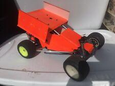 Custom Vintage Team Associated Rc-10GT Rc10 gt Rare Nitro Sprint Car Build 1/10