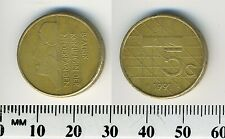 Netherlands 1991 - 5 Gulden Pre-Euro Bronze Clad Nickel Coin - Queen Beatrix