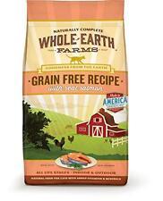 Whole Earth Farms Grain Free Recipe Dry Cat Food, Salmon, 10 lb., New, Free Ship