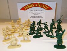 Armies in Plastic 5677 - Boxer Rebellion - 8 Chinese Boxers & 10 British.(1/32)