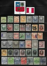 Collection of Old Stamps from Peru . . . . . . . 3 pages