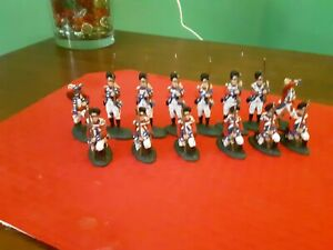 Lod Revolutionary war  British Grenadiers 1776 1/32 Plastic Painted Toy Soldiers