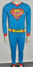 Brand New - SUPERMAN ONE PIECE SLEEPWEAR COSTUME BOYS TEENAGERS Size: 10