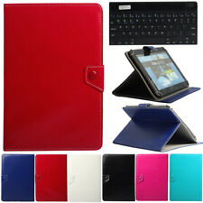 """For 9.7"""" ~ 10.1"""" Tablet PC Wireless 3.0 Keyboard w/ Universal Folio Case Cover"""