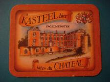 Beer Bar Coaster ~ Brouwerij Van Honsebrouck Kasteel Biere du Chateau ~ BELGIUM