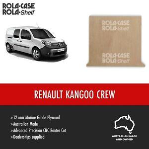 Renault Kangoo LWB Crew - Genuine Van Cargo Flooring 12mm Marine Grade Plywood